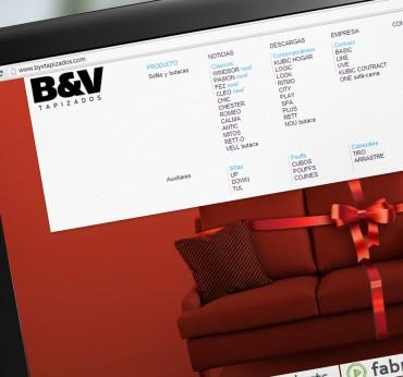 B&V Tapizados Web