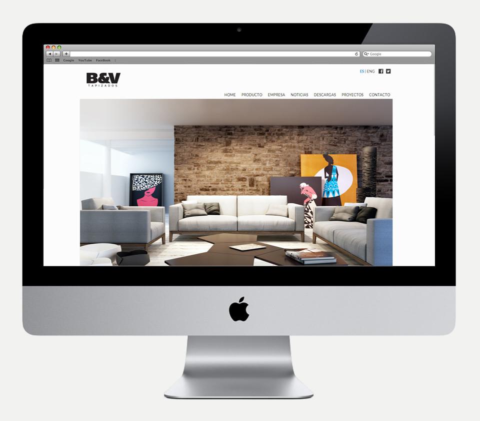 B&V Tapizados Web 2014